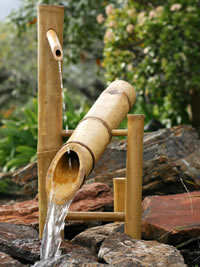 Bamboo Water Garden Fountain Bamboo Fountains Water Spouts