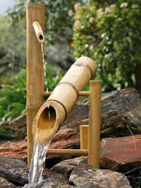 Shishi odoshi Bamboo Fountain - Japanese Garden
