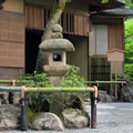 Bamboo Japanese Garden Tea House and Lantern