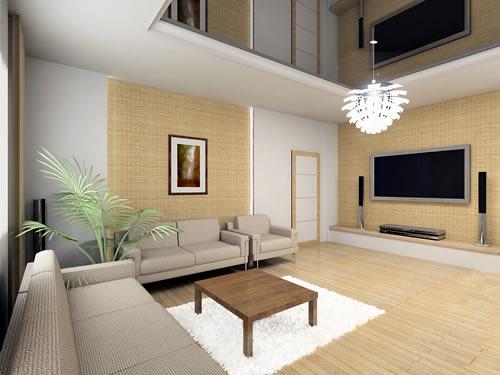 Bamboo Paneling Interior Design