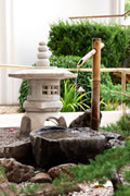 Bamboo Water Garden Fountain for Garden Water Feature