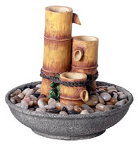 Bamboo Tabletop Fountain
